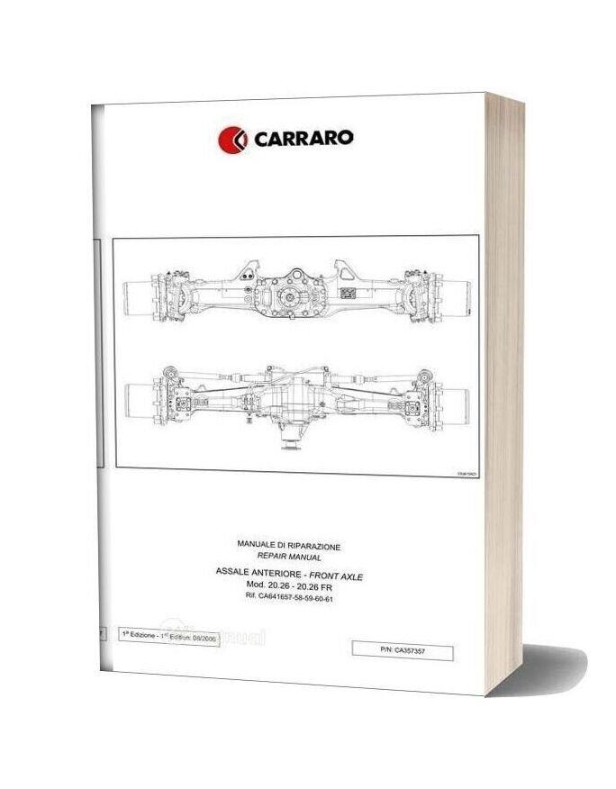 Deutz Fahr Front Axle Agrotron 150 150 7 165 7 Workshop Manual