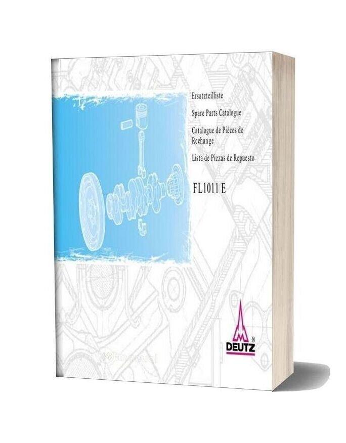 Deutz Fl 1011 E Spare Parts Catalogue