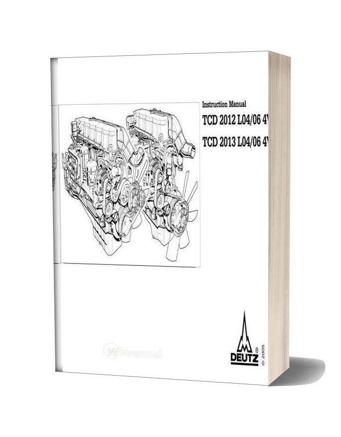 Deutz Tcd 2012 2013 L04 06 4v Instruction Manual