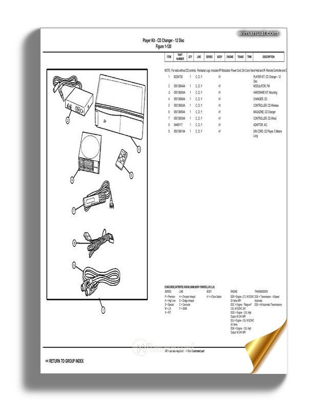 Chrysler Concorde 1997 Wiring Diagram