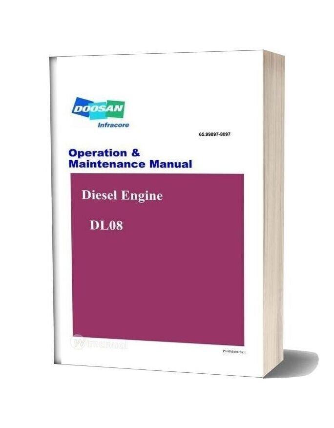 Doosan Engine Dl08 Operation Maintenance Manual