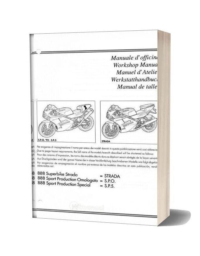 Ducati 888 Service Manual