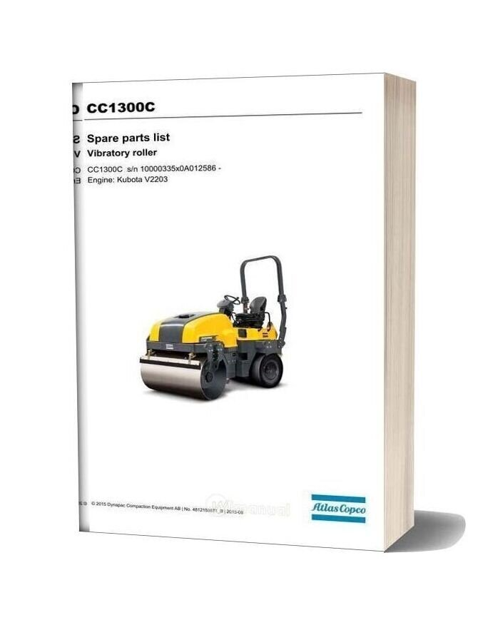 Dynapac Cc1300c Spare Parts Catalogue