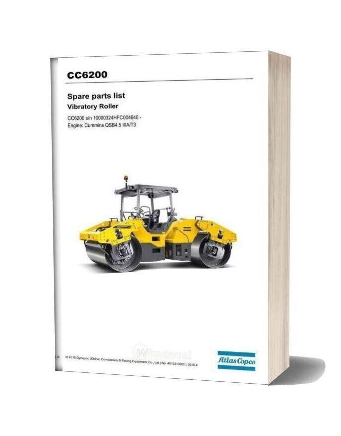 Dynapac Cc6200 Spare Parts Catalogue