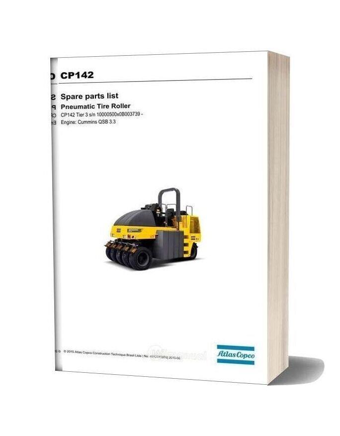 Dynapac Cp142 (T3) Spare Parts Catalogue