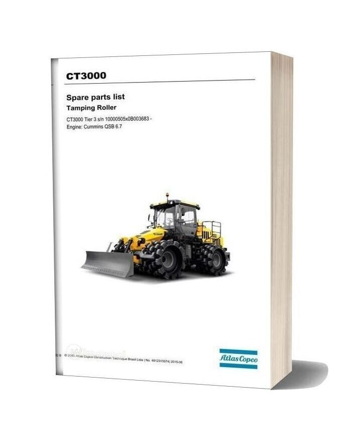 Dynapac Ct3000 (T3) Spare Parts Catalogue
