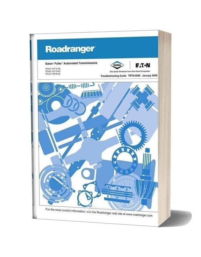 Eaton Fuller Autoshift Autoselect Troubleshooting Manual (Trts 0050)