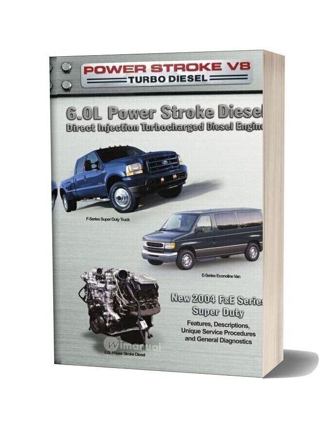 Ford 6 0l Power Stroke Diesel 2004 Service Manual