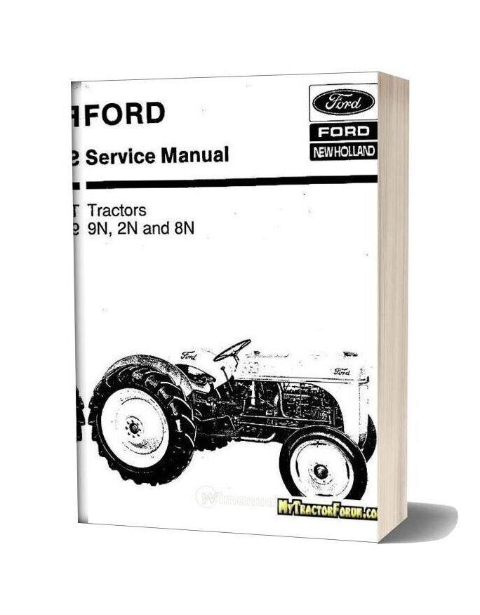 Ford 9n 2n 8n New Holland Service Manual