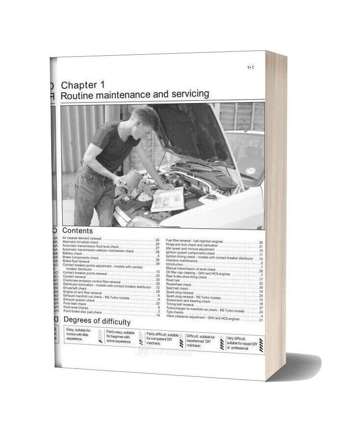 Ford Escort Service And Repair Manual Haynes Ebook