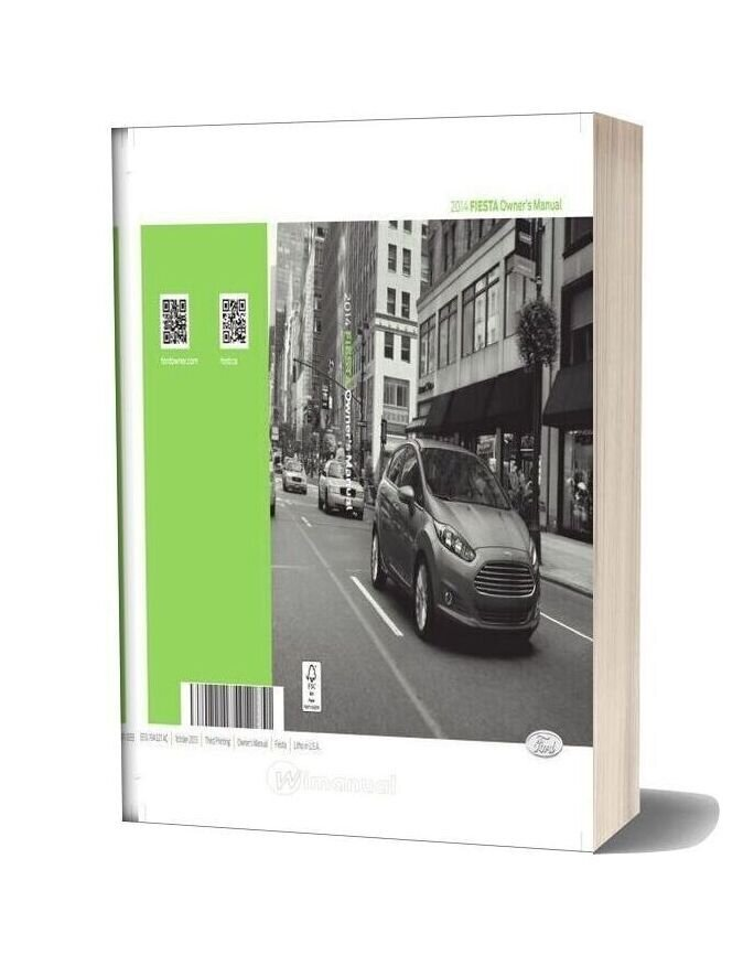 Ford Fiesta 2014owners Manual