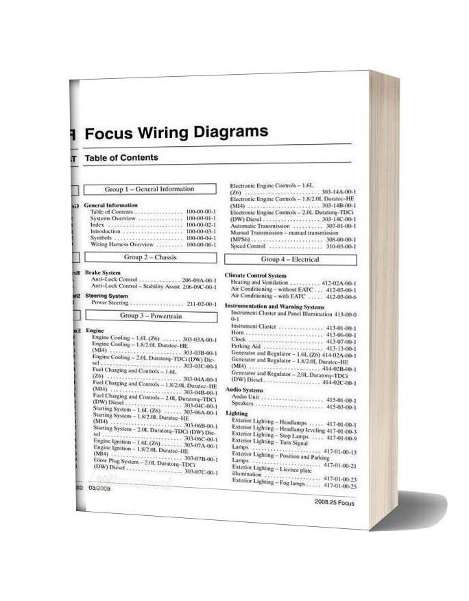 2008 Ford Focus Wiring Diagram from wimanual.com
