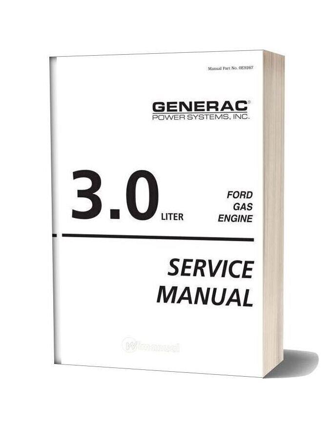 Ford Generic 3 0l Service Manual
