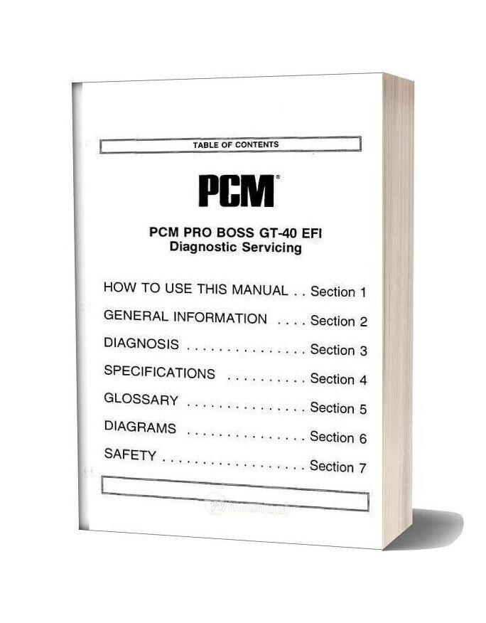 Ford Marine Industrial 5 0 5 8l Gt 40 Service Manual