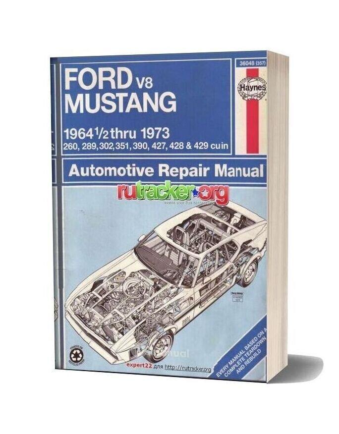 Ford Mustang I Repair Manual Eng