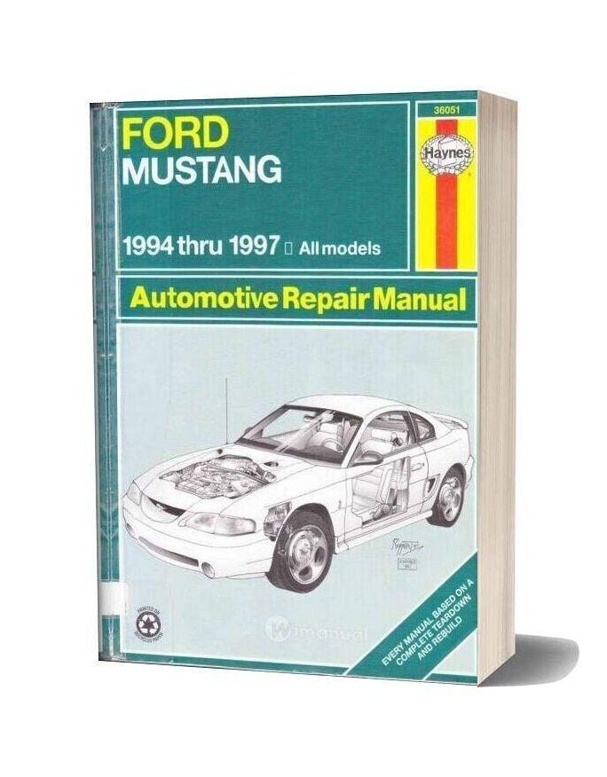 Ford Mustang Repair Manual 1994 97