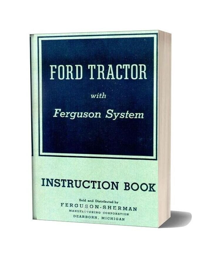 Ford Tractor 1940 Instruction Book