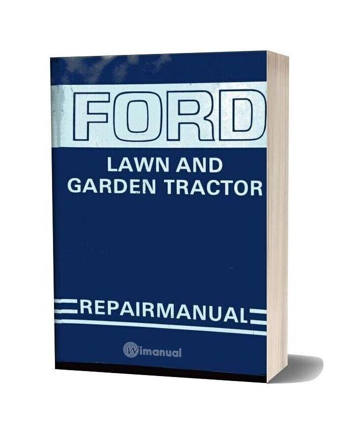 Ford Tractor Lgt 100 Lgt 120 Lgt 125 Lgt 145 Lgt 165 Glt 195 Service Manual