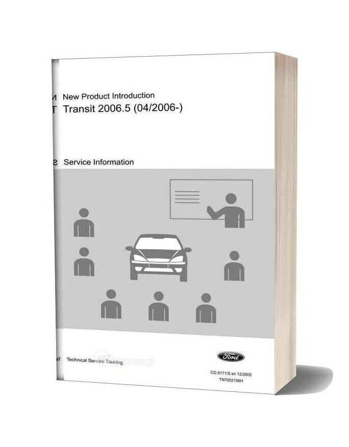 Ford Transit 06 Service Training