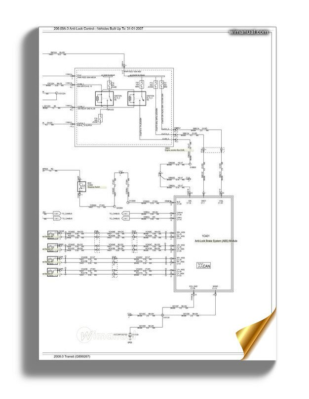 [DIAGRAM_38YU]  Ford Transit Abs Wiring Diagram 20080 | Ford Transit Wiring Diagram |  | WiManual