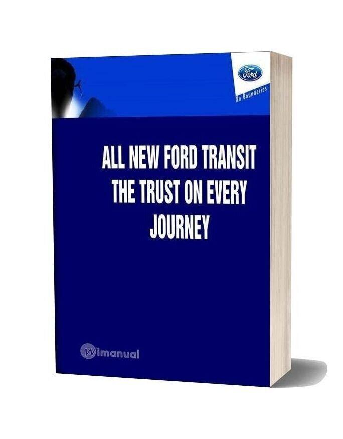 Ford Transit V184 06 Service Intro