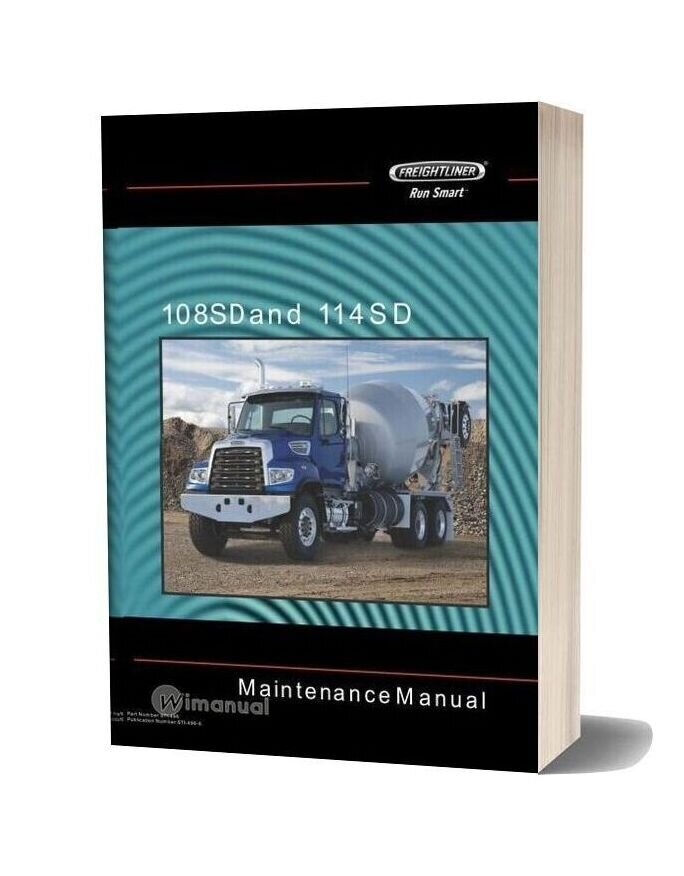 Freightliner 108sd And 114sd Maintenance Manual-20f17202