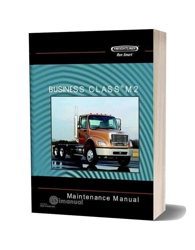 Freightliner Business Class M2 Maintenance Manual Cd1