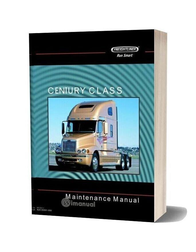 Freightliner Century Class Trucks Maintenance Manual-20f17213