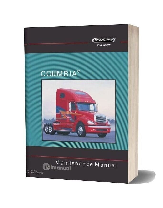 Freightliner Columbia Maintenance Manual-20f17219