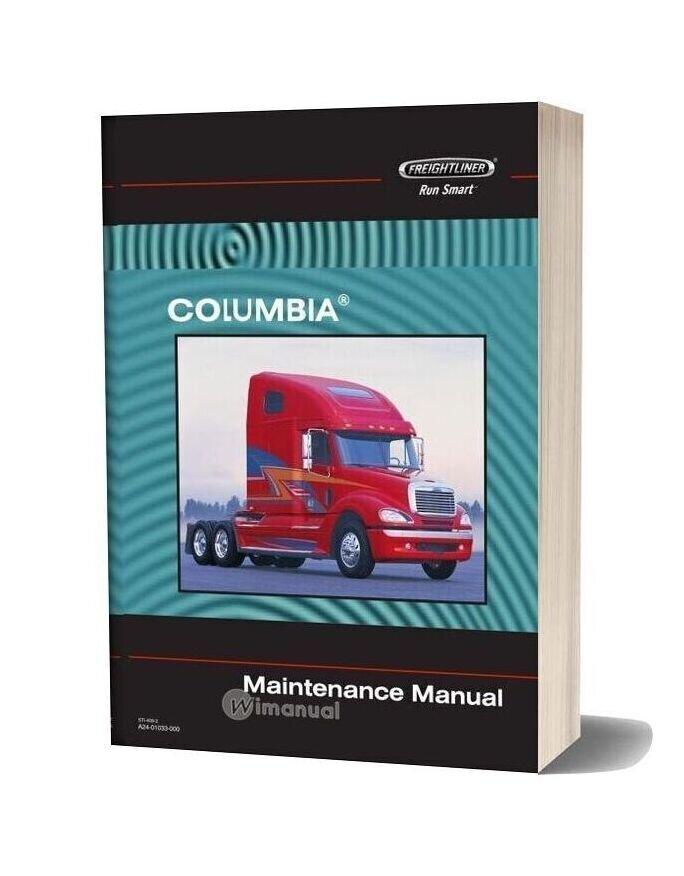 Freightliner Columbia Maintenance Manual