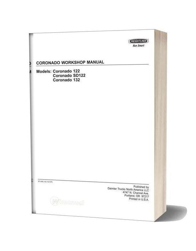 Freightliner Coronado Workshop Manual