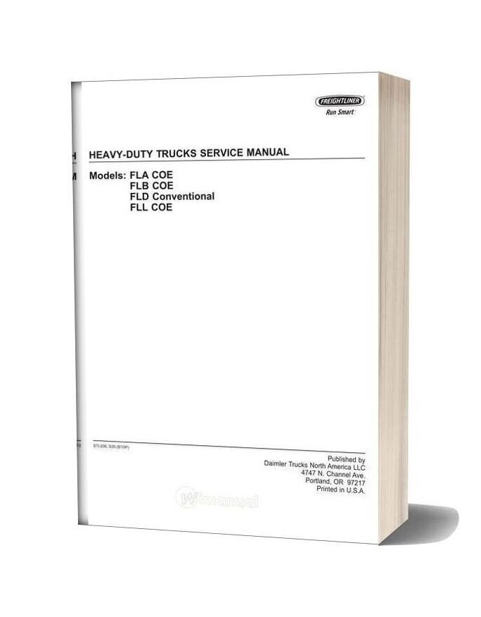 Freightliner Heavy Duty Trucks Service Manual