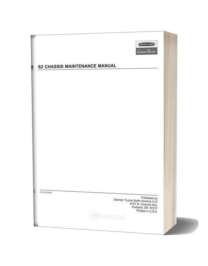Freightliner S2 Chassis Maintenance Manual-20f17479