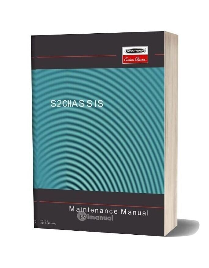 Freightliner S2 Chassis Maintenance Manual