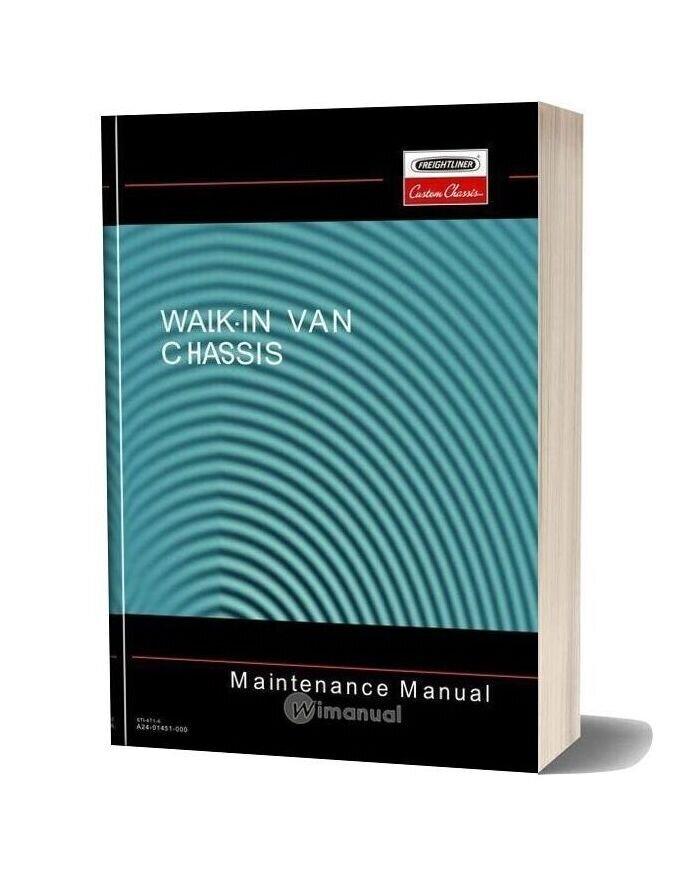 Freightliner Walk In Van Chassis Maintenance Manual