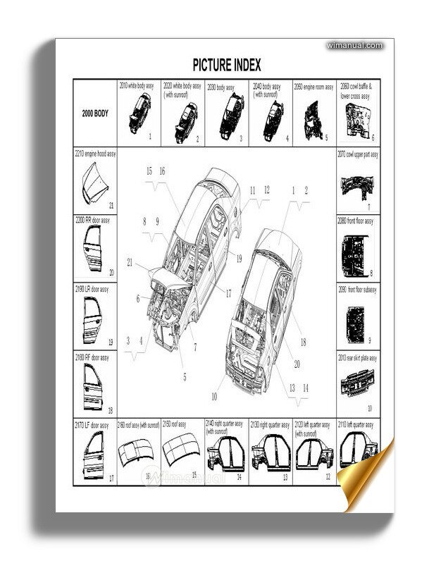 Geely Ck 2008 03 Catalogue Parts
