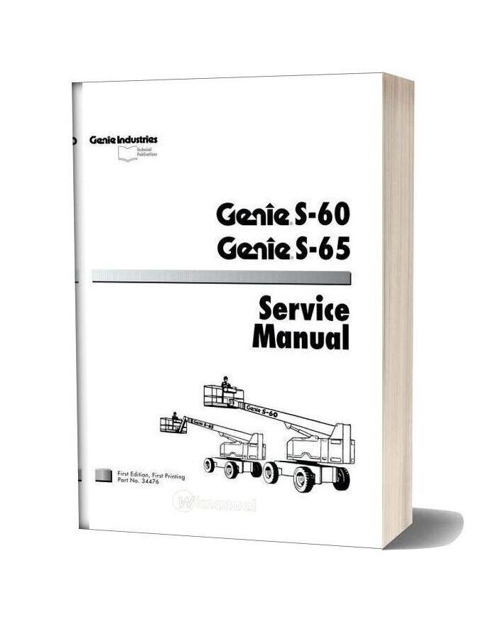 Genie S60 & S65 Service Manual