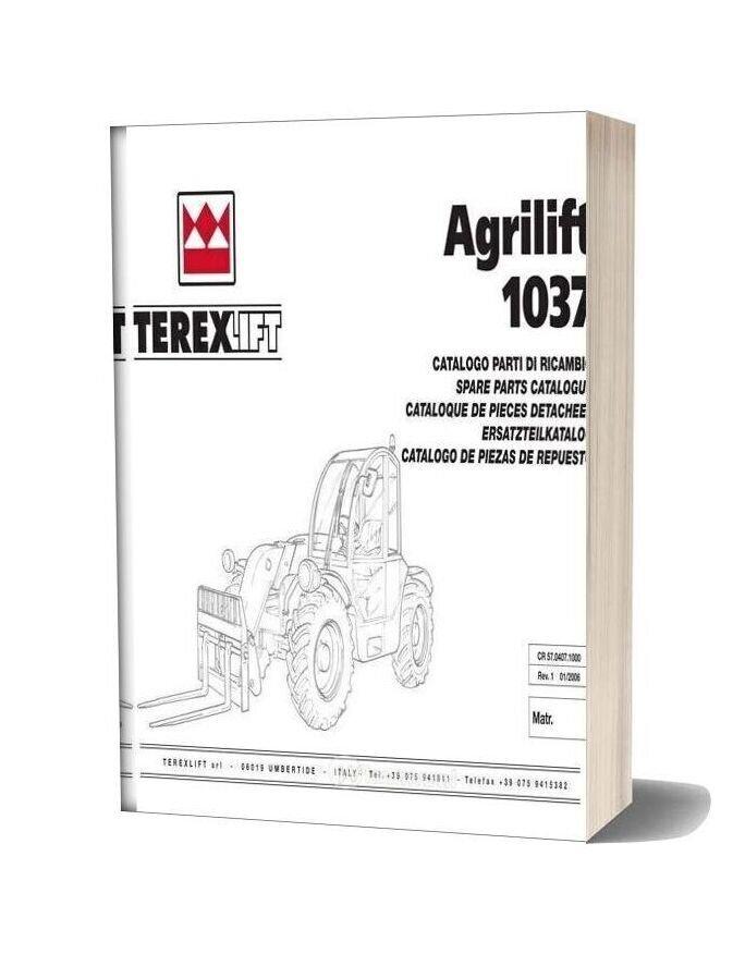 Genie Scissors Lift C Agrilift 1037 From Sn 12510 Parts Manuals