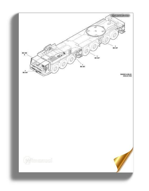 grove gmk 7450 operators manual