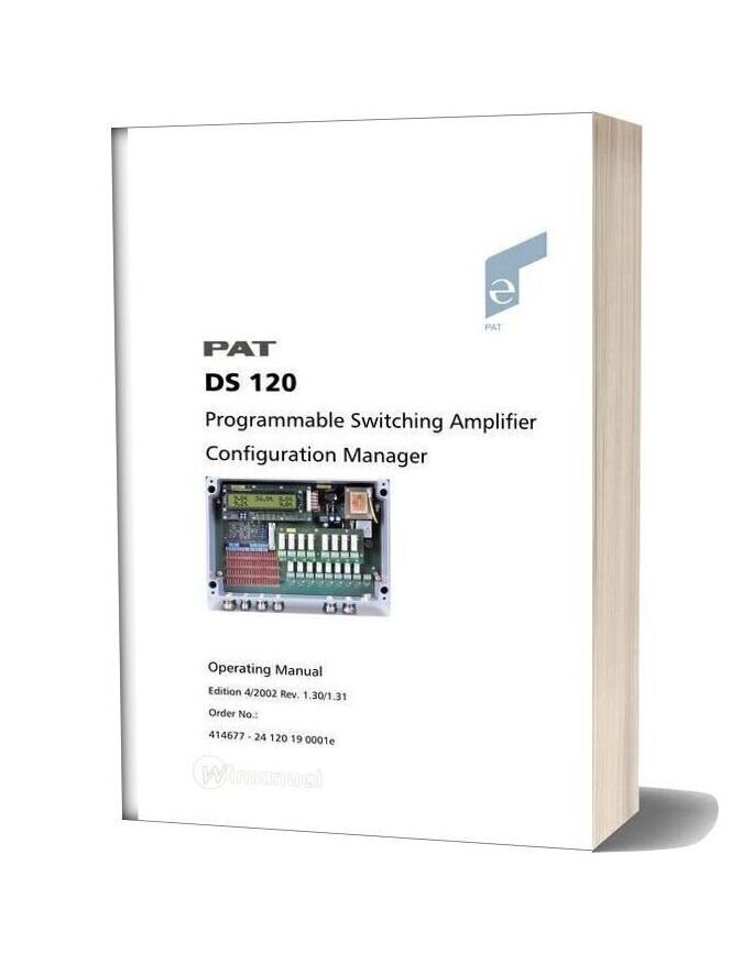 Grove Pat Ds1201 Troubleshooting Manual