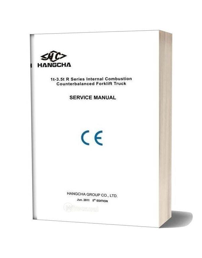Hangcha Folklift Service Manual