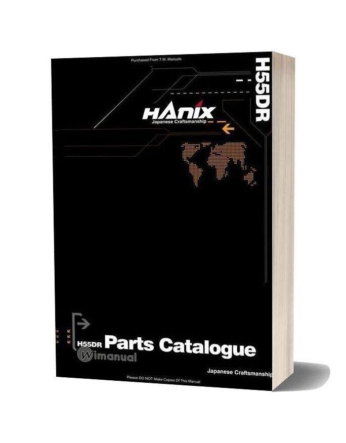 Hanix H55dr Parts Catalog