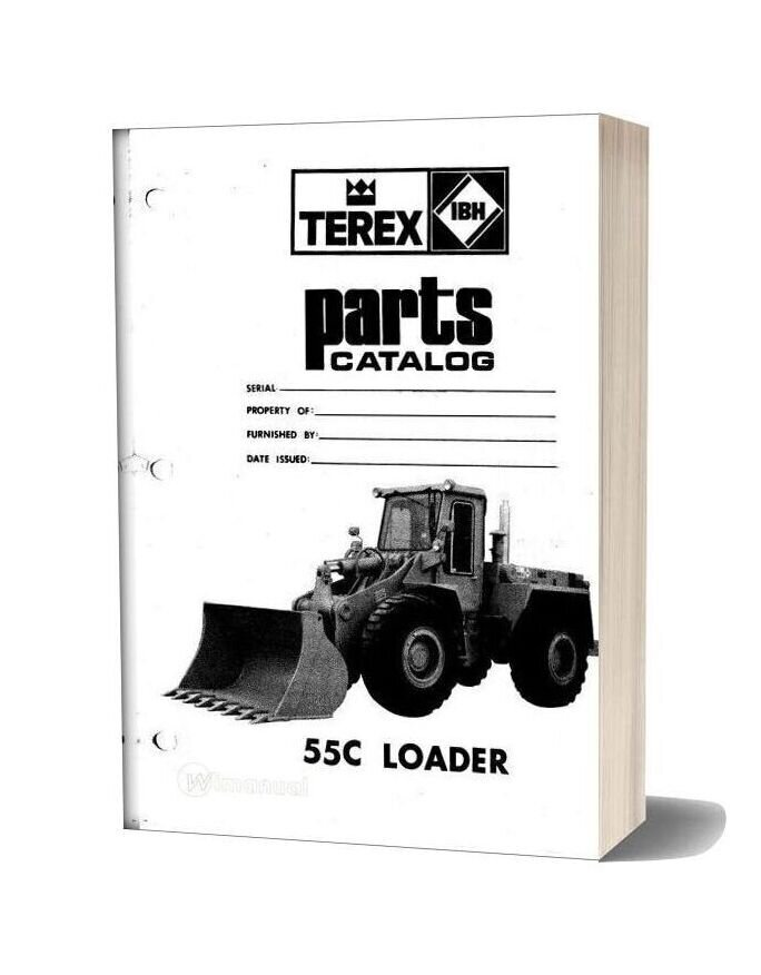 Hanomag & Hanomag Built Terex 55c Pm 3091151m1 Parts Book
