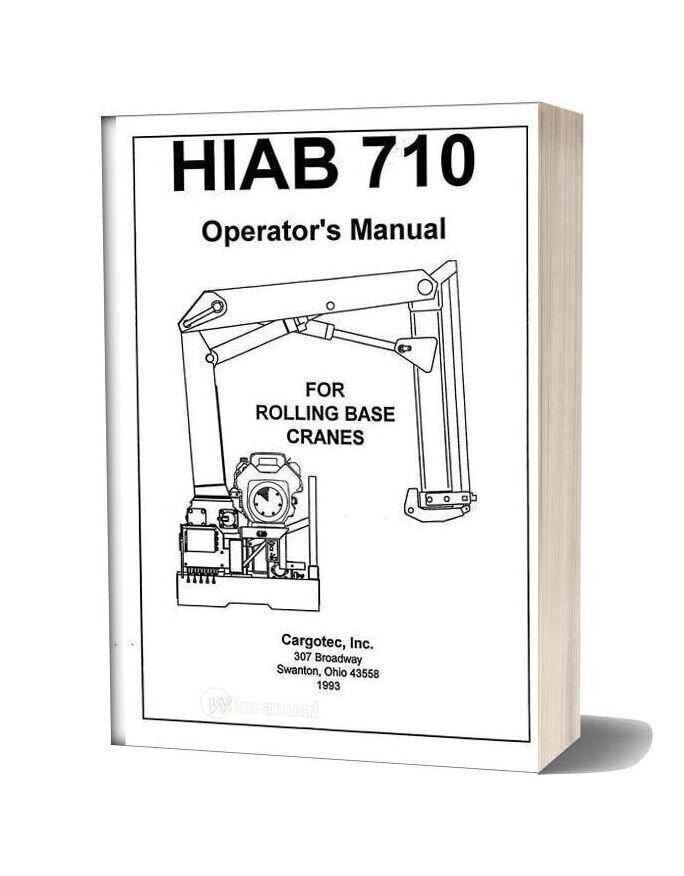 Hiab 710 Operators
