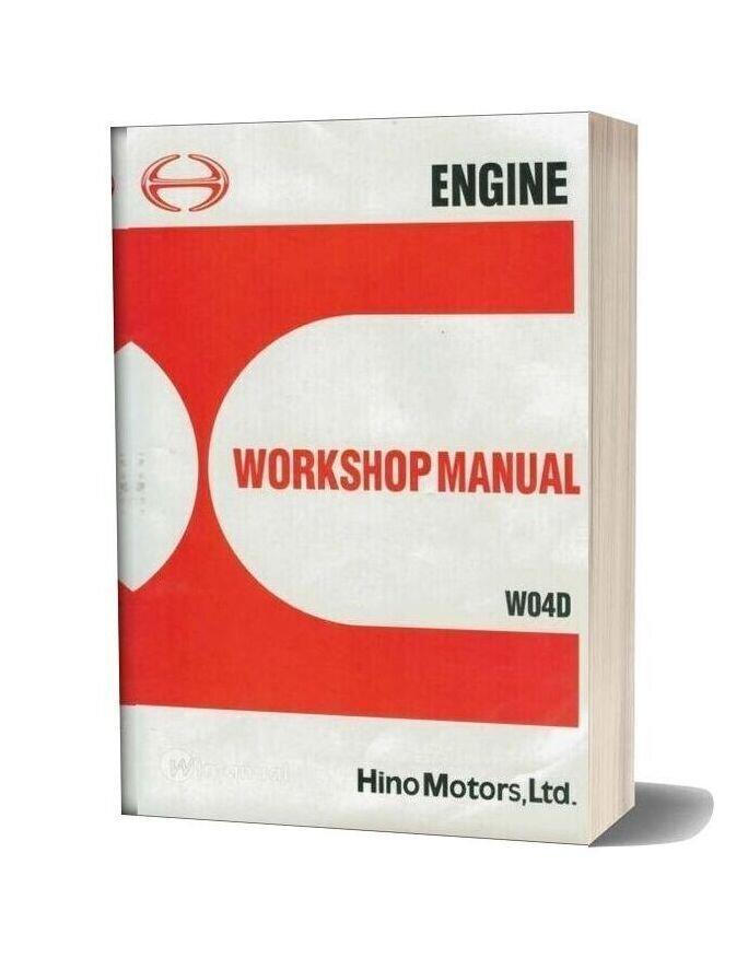 Hino Rb145 Motors Workshop Manual Wo4