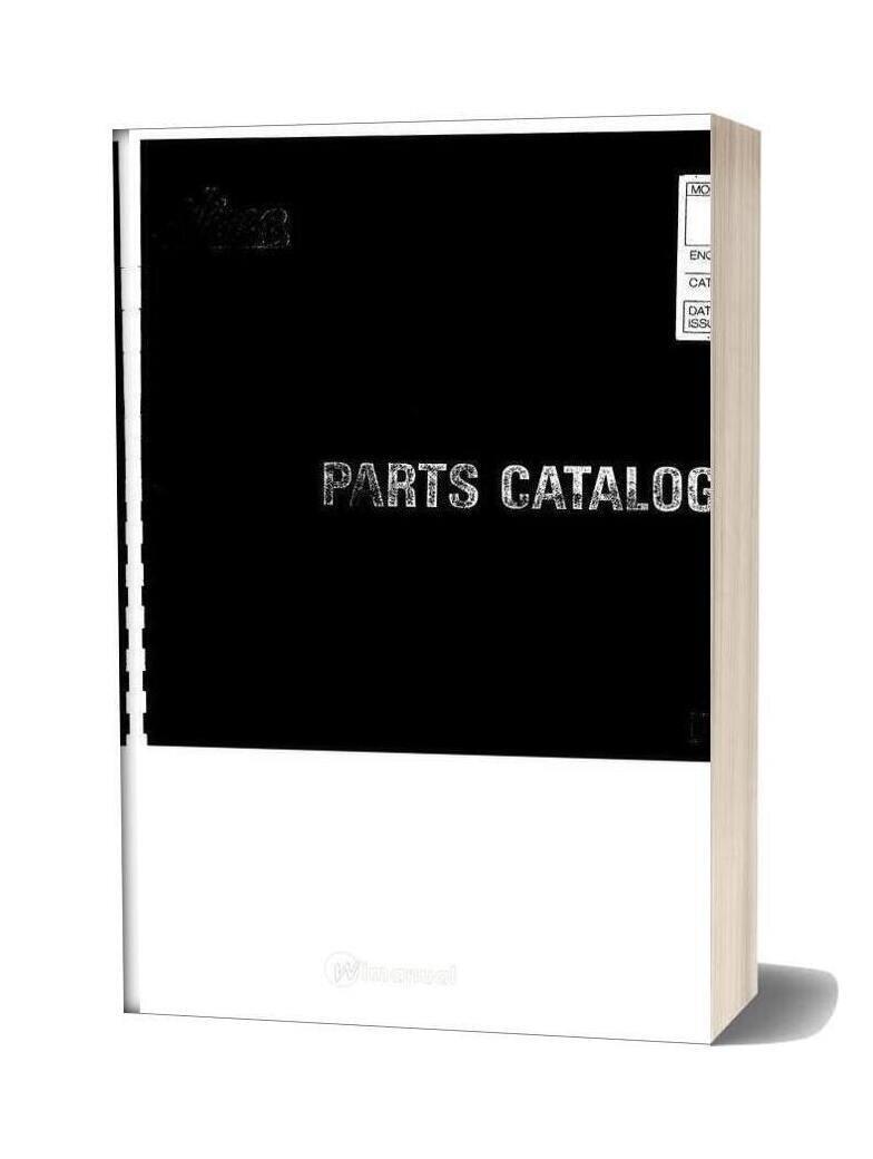 Hino Rb145 Parts Manual