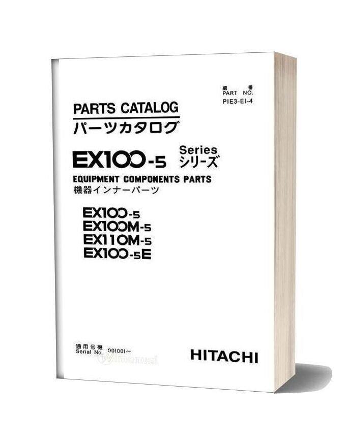 Hitachi Ex100 110 5 Equipment Components Parts
