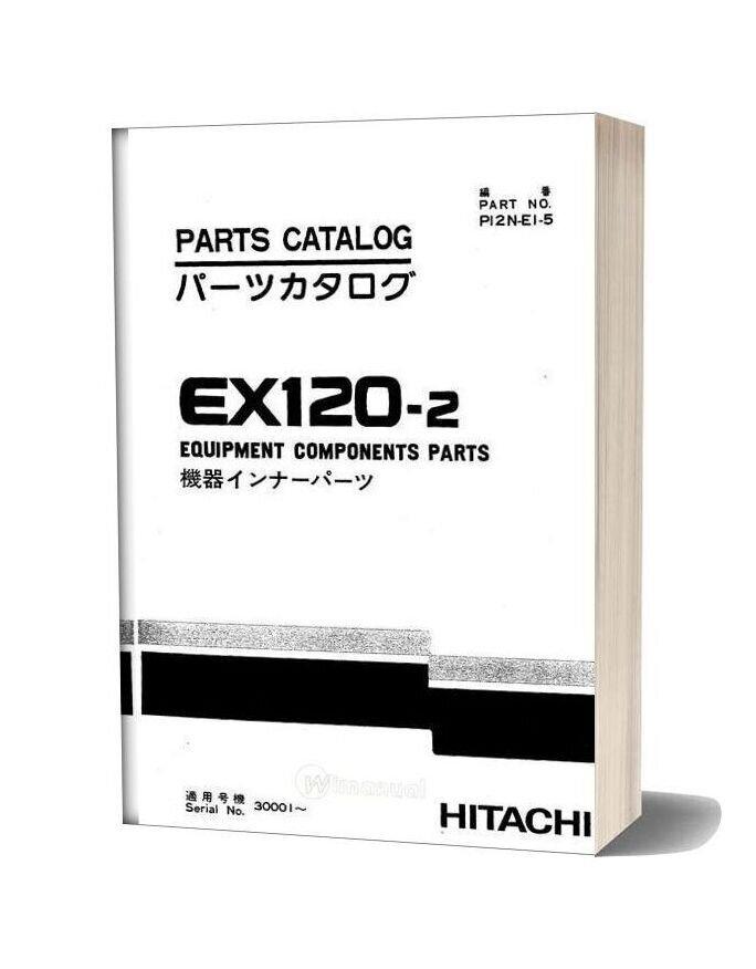 Hitachi Ex120 2 Equipment Components Parts
