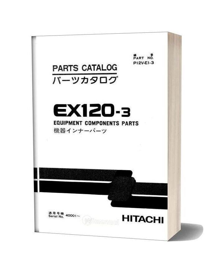 Hitachi Ex120 3 Equipment Components Parts