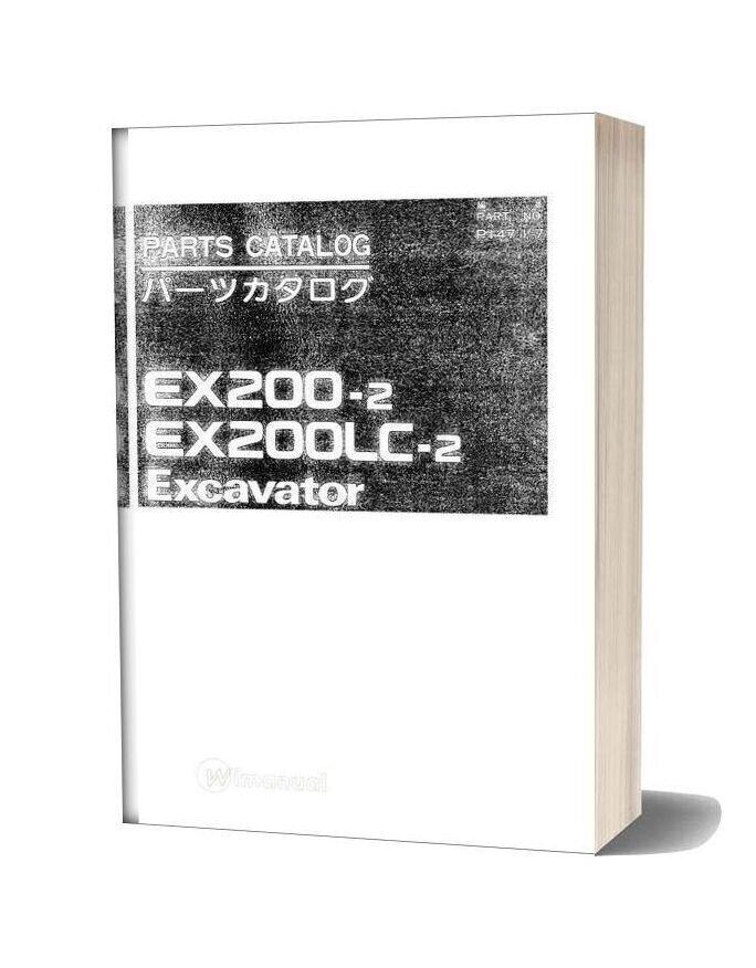 Hitachi Ex200 2 Excavator Parts Catalog